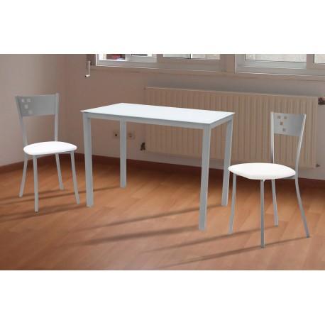 Conjunto de mesa y sillas de cocina modelo STAR