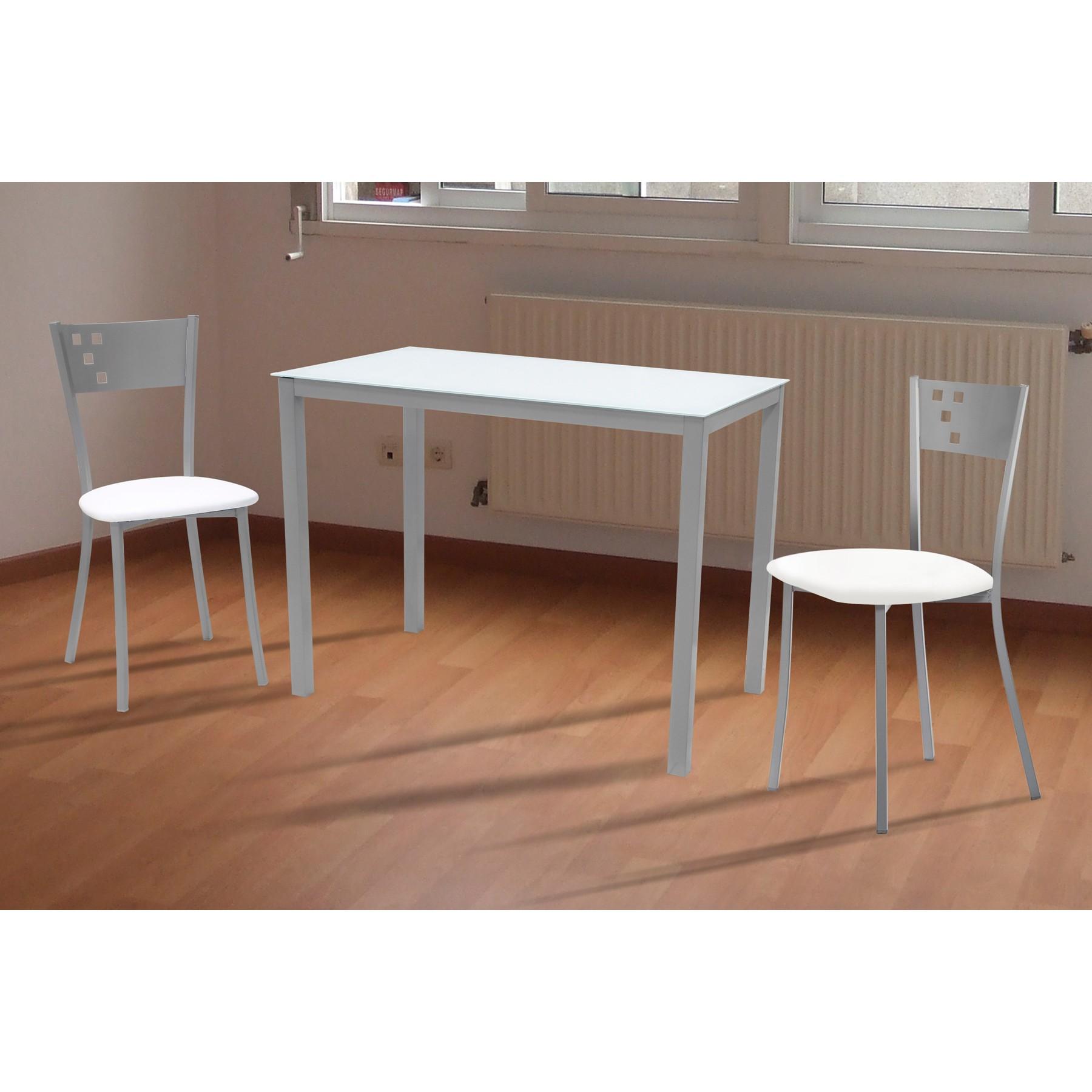 Conjunto de mesa y sillas de cocina barato y econ mico - Mesas para cocinas modernas ...