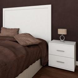 Conjunto para dormitorio de matrimonio LOOK II con 1 mesita de noche