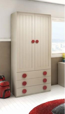 armario-duelas-verticales-mod-enjoy. Puertas de armario