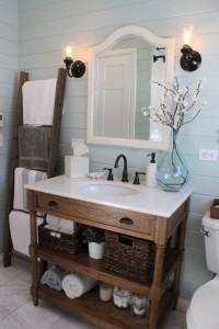 mueble de baño en madera de dekogar.es Baños y madera son una buena combinación