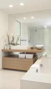 mueble de baño de diseño de dekogar.es Baños y madera son una buena combinación