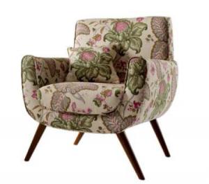 butaca de flores de dekogar.es Pon un sillón en tu hogar