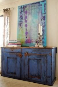 cómoda envejecida blog.dekogar.es Colores en los muebles