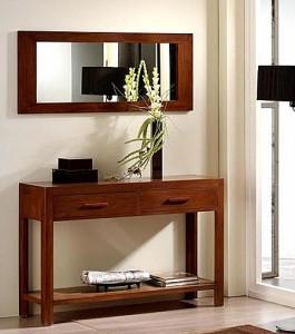 mueble de madera para entrada en dekogar.es  Entradas con encanto