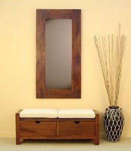 muebles de madera para entrada en dekogar.es Entradas con encanto