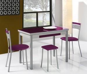 conjunto silla y mesa dekogar.es Ideas en mesas de cocina