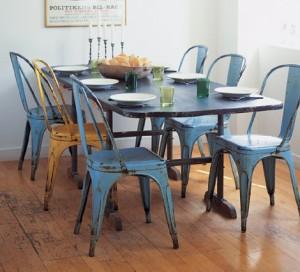 sillas acero dekogar.es El estilo industrial gana fuerza