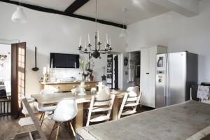 mesa de madera dekogar.es Ideas en mesas de cocina