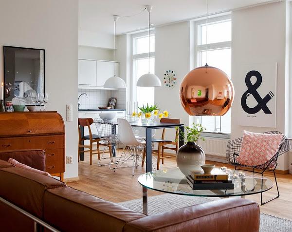 como combinar estilos de muebles