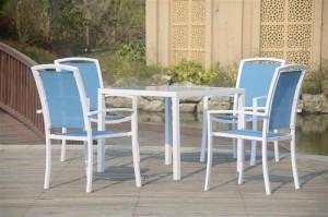 Conjunto en aluminio Daikiri de www.dekogar.es Consejos para comprar tus muebles de jardín