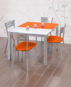 Mesa de cocina extensible modelo C de Dekogar.es Soluciones de muebles para cocinas reducidas