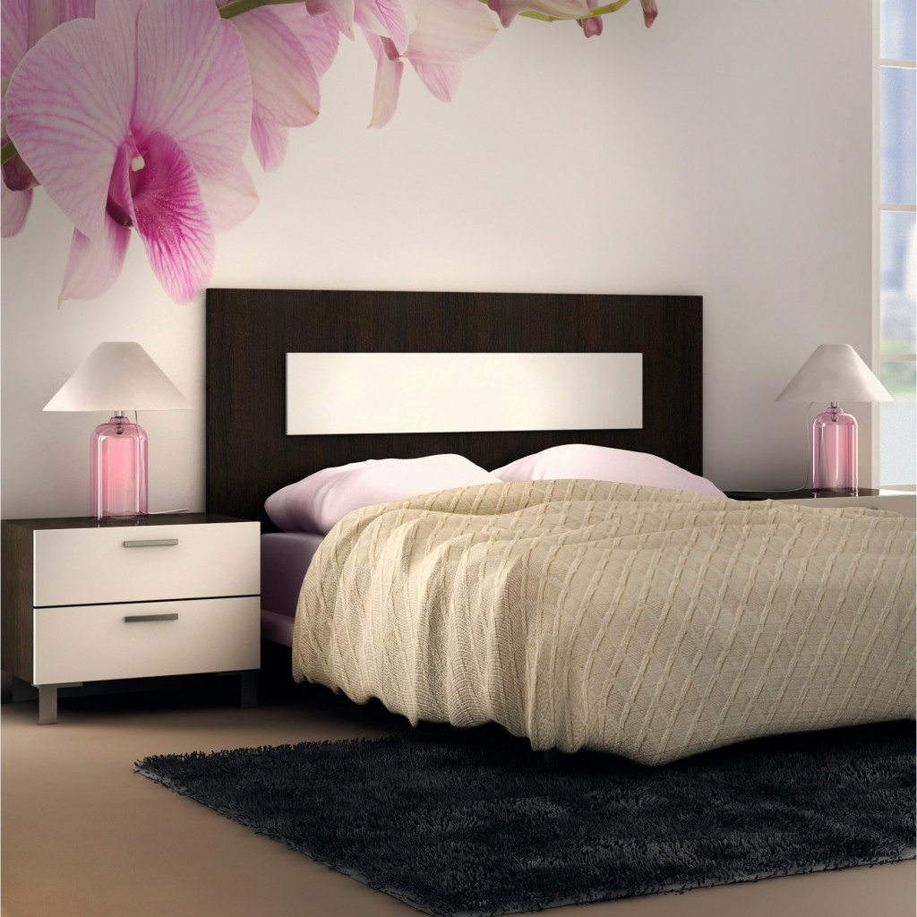 Cabecero de cama moderno en madera Mod. Square de dekogar.es