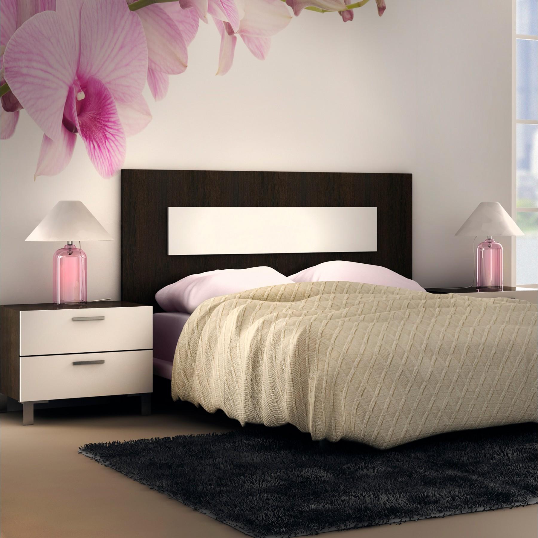 Cabecero de cama moderno en madera blog dekogar - Cabeceros de cama de diseno ...