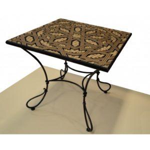 muebles del hogar vanguardistas-mesa-de-forja-madera-modelo-bali