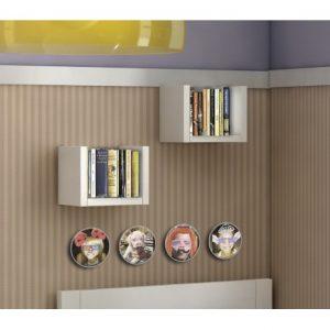 muebles del hogar vanguardistas-estanteria-juvenil-calidad-economica-en-u-mod-game