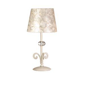 lámparas brillantes de nácar vulcano-lampara-sobremesa-clasica-vulcano
