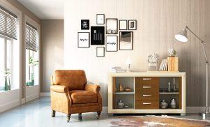 Estilos de muebles clásico y moderno