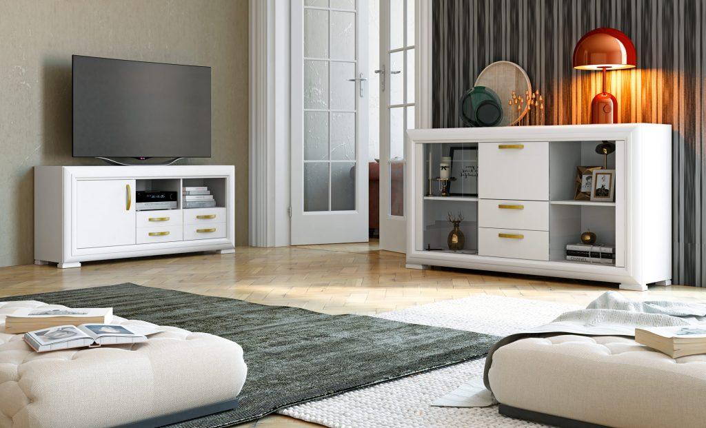 Conjunto muebles de salón modelo Londinium