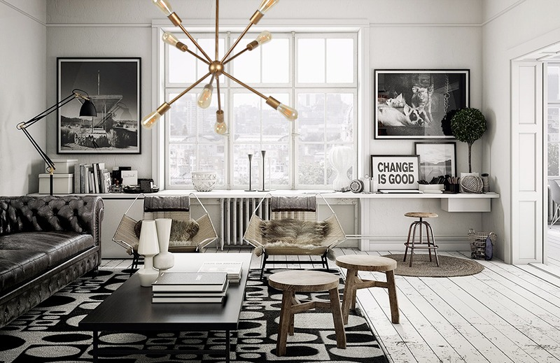 Ideas para un salón pequeño