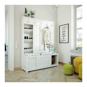 Desinfectar y limpiar los muebles de la entradita